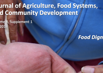 """A """"Community Supported Journal"""" worth Supporting on Agriculture, Food Systems and Community Development"""