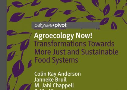 Hot off the press: New Open Access Book on Transformations Towards More Just and Sustainable Food Systems